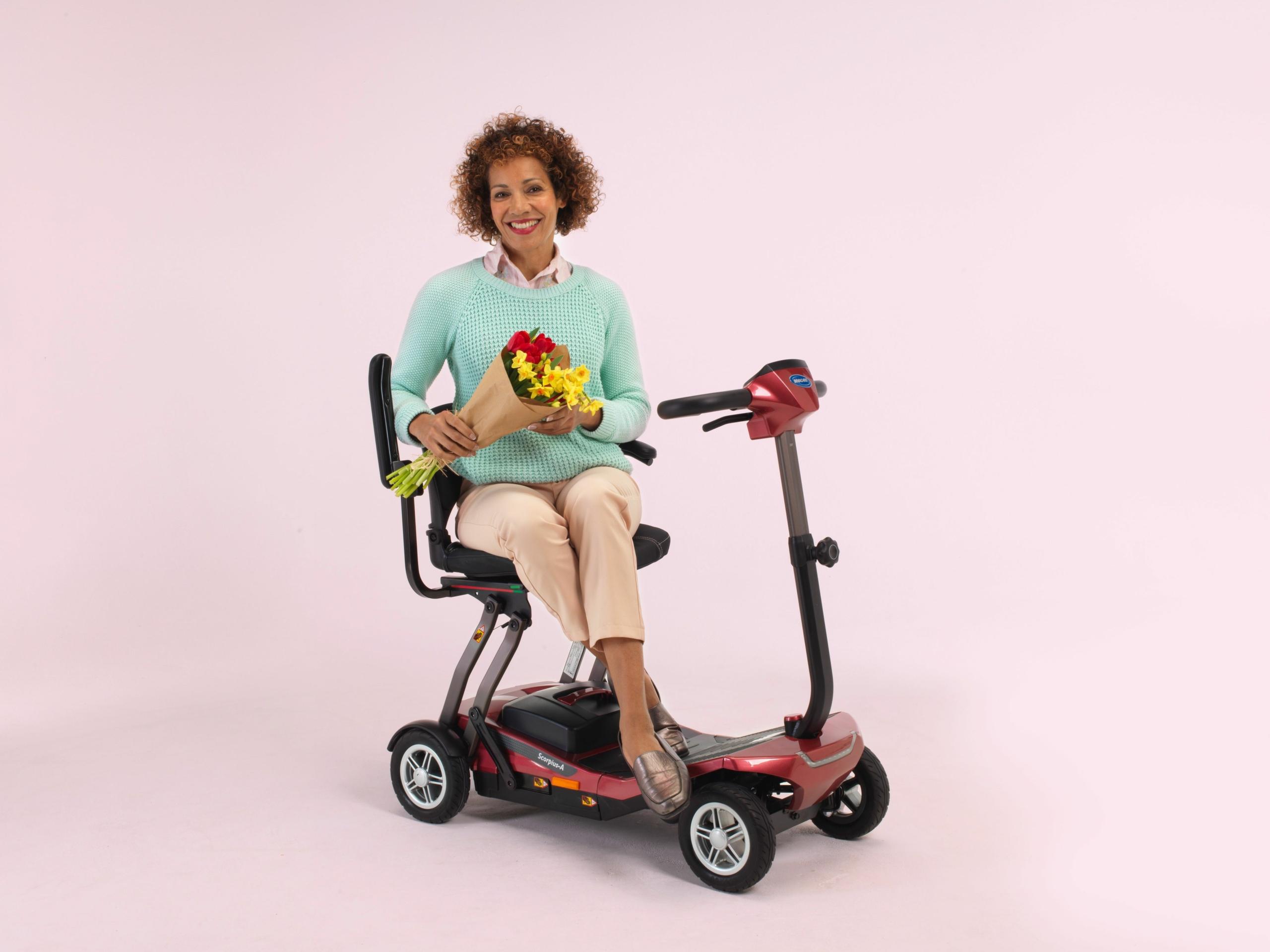 Jegge bewegt - Elektromobil - Scorpius color